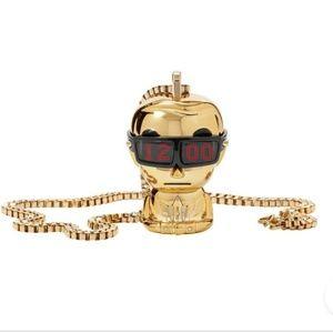 BNIB Karl Lagerfeld x Tokidoki Watch Necklace